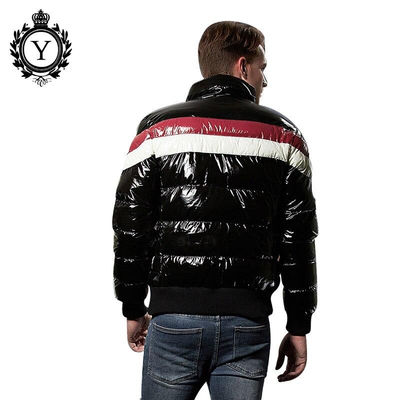 Edler Schmuck Malidinu 2019 Männer Unten Jacke Dicken Winter Unten Mantel Hohe Qualität 70% Weiße Ente Unten Männer Mode Unten Parka Marke Russische Größe