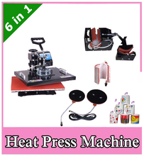 Advanced 6 IN 1 Heat transfer machine,Tshirt/Mug/Plate/Cap Press machine,Heat press,Sublimation machine,heat press machine