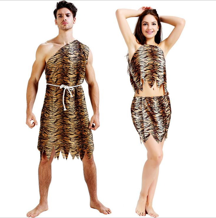 leopard savage caveman croods flintstones primitive <font><b>sexy</b></font> indian clothing <font><b>costume</b></font> carnival <font><b>halloween</b></font> <font><b>costumes</b></font> for <font><b>men</b></font> adult fancy image