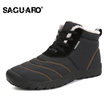 SAGUARO Super Warm Mens Winter Boots Waterproof