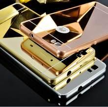90b40ee8288 For Huawei P8 lite P8mini Case Aluminum Metal Frame Mirror Plating Hard  Cover For Fundas Huawei P9 P9 Lite G9 Case Coque Capa