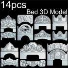 14pcs Bed 3d model S...