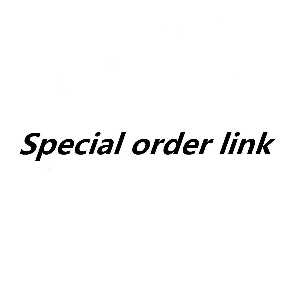 Abadon special order link logo charm