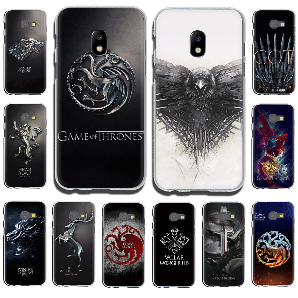 The game of the thrones Hard Phone Cover for Samsung Galaxy J6 J5 J1 J2 J3 J7 2017 2016 2015 Prime J7 EU Version image