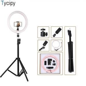 Tycipy 2700 K-5500 K 24 W Photo Studio Light for Smartphone with Tripod