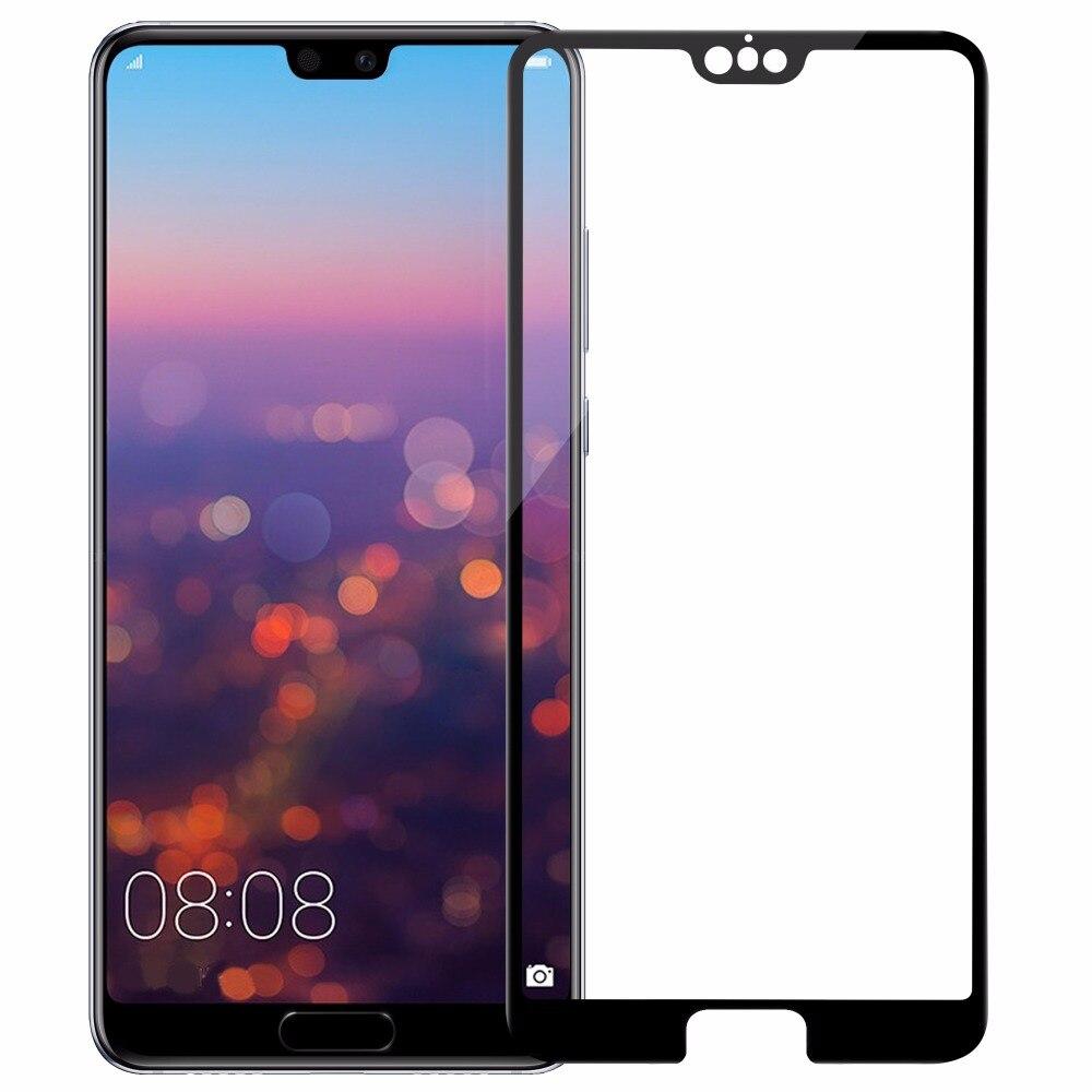 Huawei P20 Pro Pleine couverture En Verre fIlm Écran Protecteur Nillkin Anti-Explosion 3D CP + MAX Verre de sécurité Pour Huawei P20 Pro