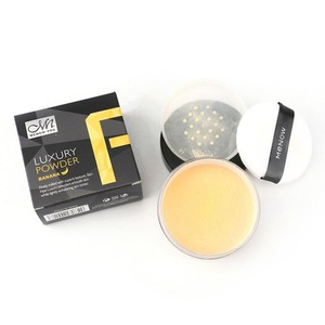 Banana Face Makeup Powder Breathable Waterproof Skin Finish Loose Powder Oil-Control Cosmetic Face Beauty Tool