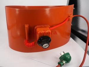 Image 4 - 200 L(55 Gallon) 125x1740x1.8mm 1000W/1500W Flexible Silicon Band Drum Heater Blanket Oil Biodiesel Plastic Metal Barrel