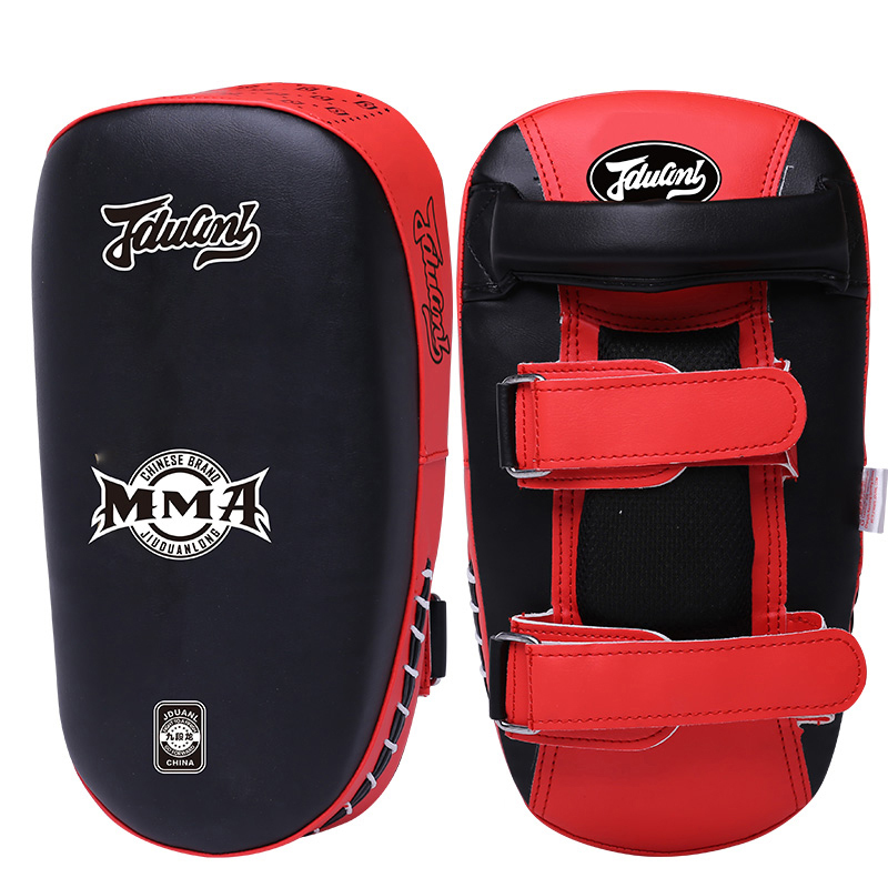 JDUnaL 1Piece 860g Sparring MMA Boxing Pad Kickboxing Muay Thai Shield Taekwondo Karate Focus Target Martial Arts Training DBO
