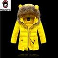 Chaqueta de los niños para niños niñas abrigo de invierno abrigos de down chaqueta de invierno para la muchacha abajo y parkas niños chaqueta de Invierno Engrosamiento