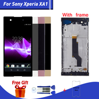 For Sony XA1 lcd display Screen Replacment For Sony Xperia XA1 G3121 G3112 G3125 G3116 G3123 lcd Display Touch Screen modules