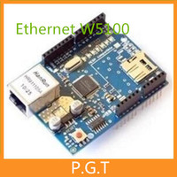 1pcs Trackable Shipping Ethernet W5100 Network Shield Board With SD Card Expansion For Arduino
