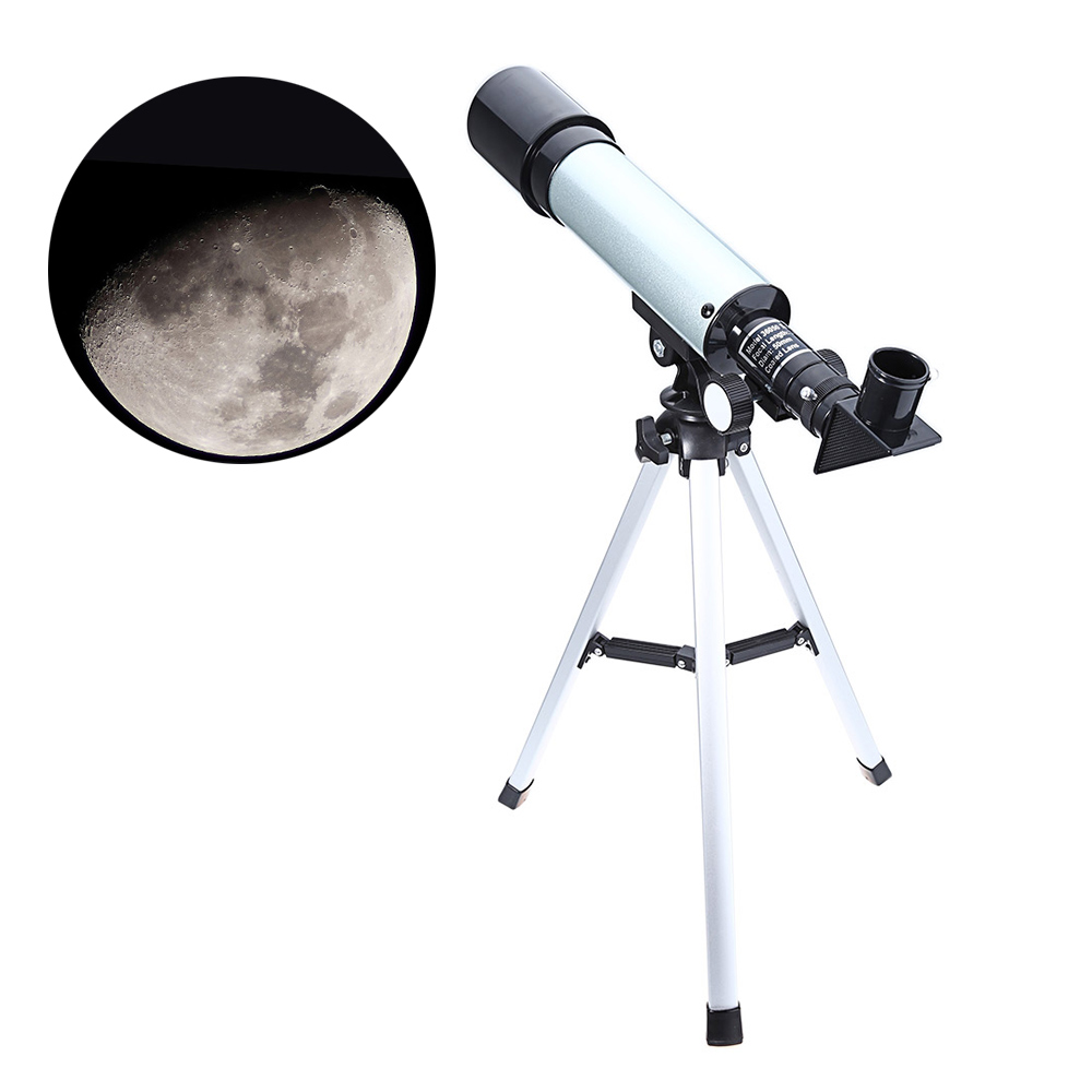 Astronomical Monocular Celestron Telescope With Tripod 2 Eyepiece Optical Refractor Zoom Spyglass For Child Astronomic Space  цены