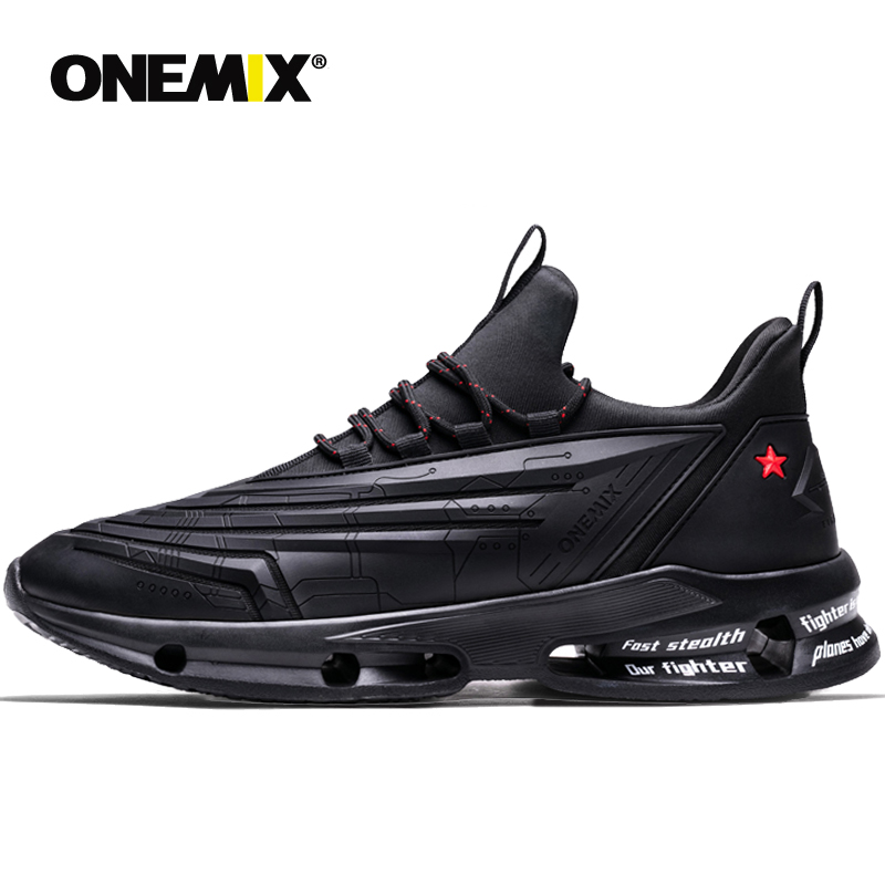 ONEMIX Men s Breathable Ultra thin Mesh Running Shoes Shock Absorption Soft Midsole Outdoor Working Women