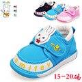 Envío Gratis 1 par Precioso Lienzo Zapatos de Deporte Zapatillas de Deporte Del Bebé, Chica/Niños Zapatos antideslizantes, calidad estupenda Kids Shoes