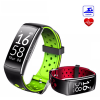 LYKL Q8 Smart Band IP68 Waterproof Smart Wristband Heart Rate Monitor Fitness Tracker Bracelet Wearable Devices for IOS Android
