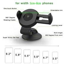 Car Phone Holder For Samsung S9 S8 S7 A8 A7 A5 J7 J5 2017 Car Holder For iPhone Huawei Mobile Stand soporte para telefon tutucu