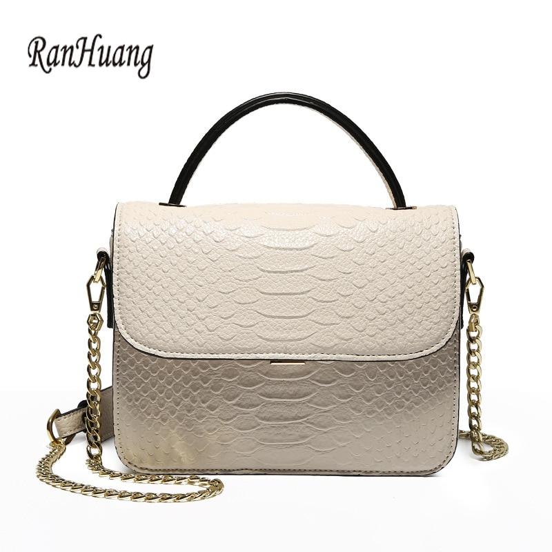 RanHuang Luxury Handbags High Quality Women Genuine Leather Handbags 2018 Fashion Flap Women s Small Shoulder