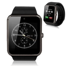 """2015 heiße Neue GT08 Smartwatch MTK 1,54 """"Kamera 0.3MP Smart Watch SIM Karte Für Android Huawei SAMSUNG LG HTC xiaomi Smartphone"""