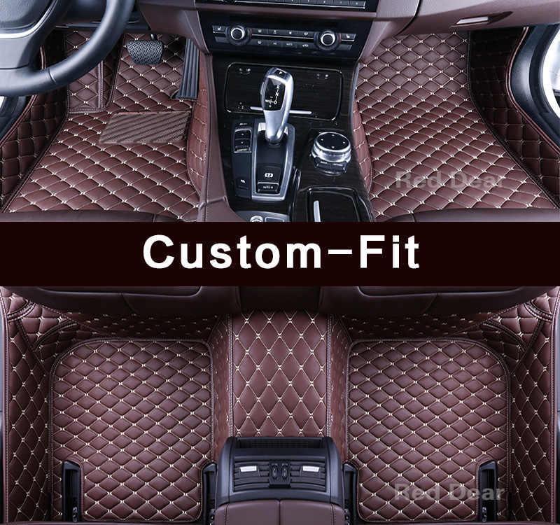 Custom fit auto vloermatten voor Mercedes Benz a-klasse W169 W176 A45 AMG A160 A170 A180 A200 A250 3D auto-styling tapijten liner