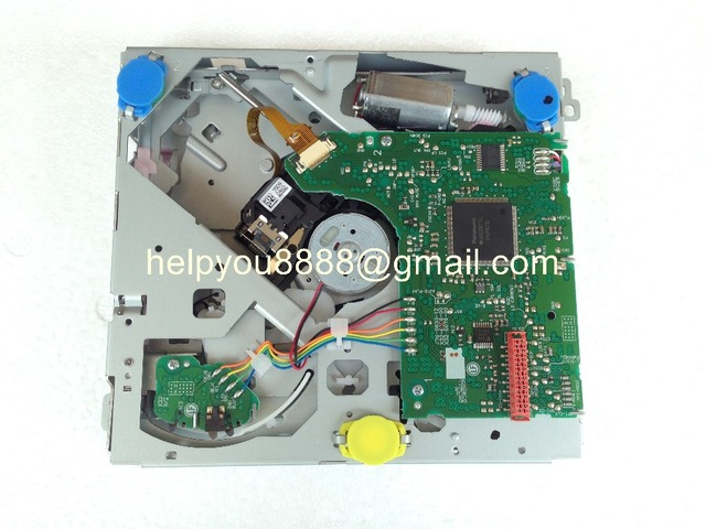 Merek baru DXM9550V DXM9550VME tunggal cd loader mekanisme vw RCD310 RNS315 RCD315 CD mobil navigtion audio