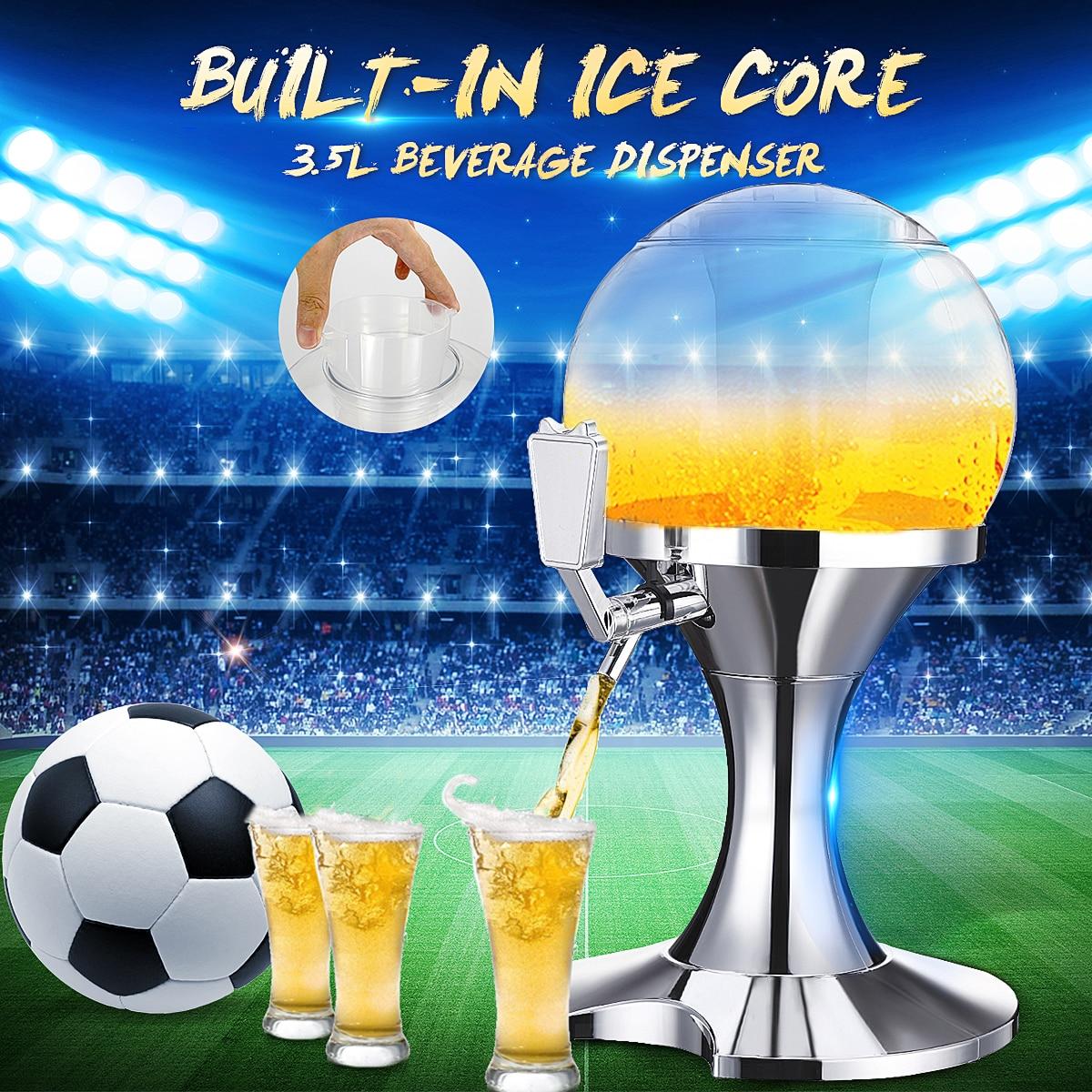3.5L Whiskey Verseur Juice Bar Ice Core Bière Boissons Partie Distributeur Machine Conteneur Accessoires Barware Accueil Cuisine Outils