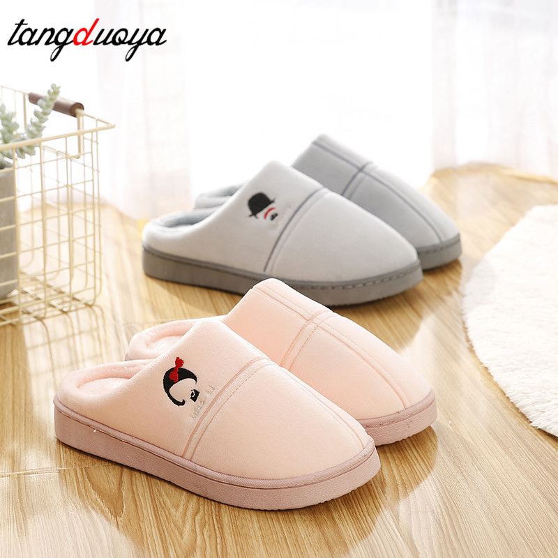 men winter slippers women indoor slippers women winter warm shoes men home slippers mannen women house shoes men pantoufle homme fghgf shoes men s slippers kma