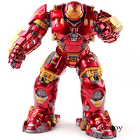 Avengers Age of Ultron Mark 44 Hulkbuster Figure with Light PVC Marvel Action Figures Collectible Model Toy
