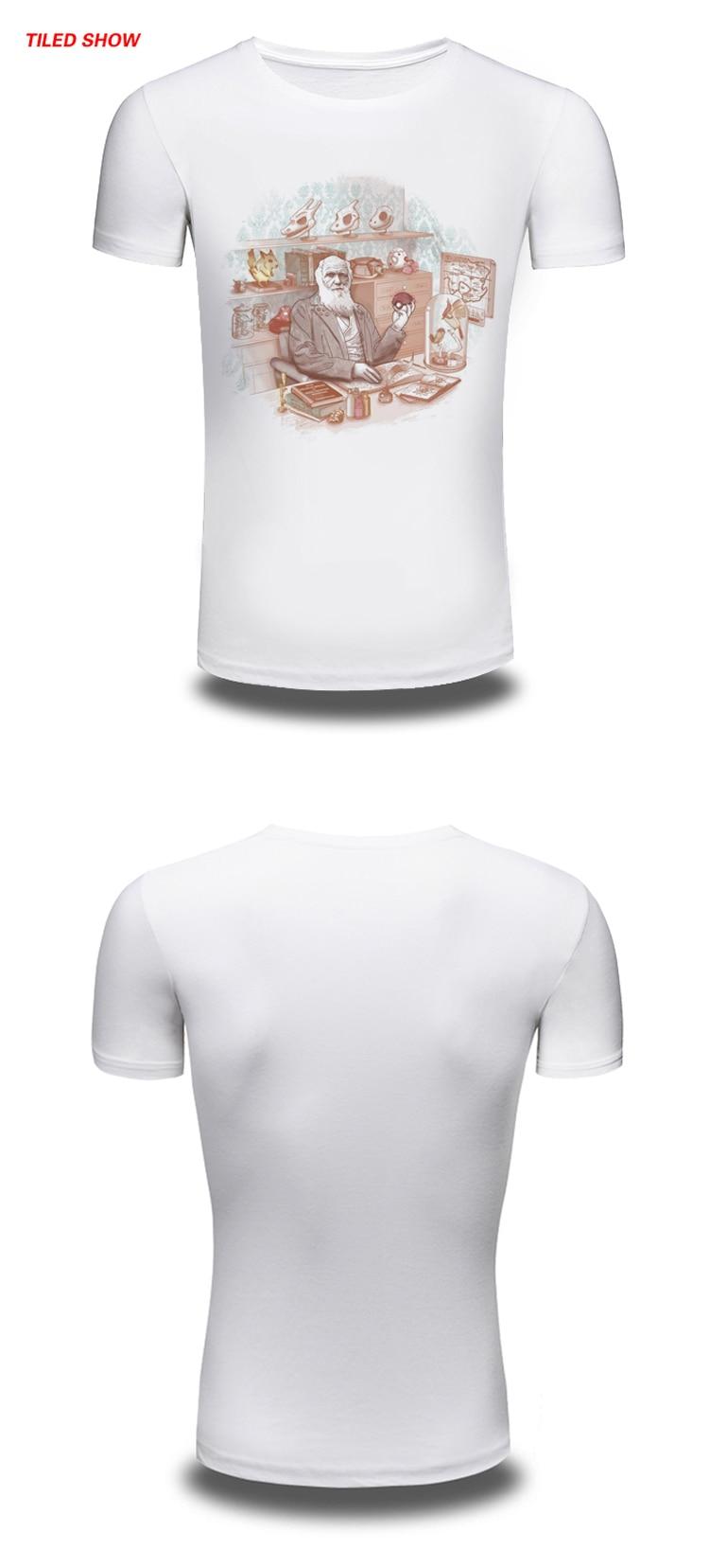 51192040a3a3 Supreme Nuovo Mens di Estate T Shirt Pocket Mostro Old men Stampato Casual  uomo Slim Fit Short Sleeve white Men vestiti tee shirts in Supreme Nuovo  Mens di ...