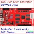 Полноцветный контроллер, асинхронный контроллер, 1024*64 пикселей, поддержка wi-fi маршрутизатор, usb-диск, cat 5, включены датчик яркости