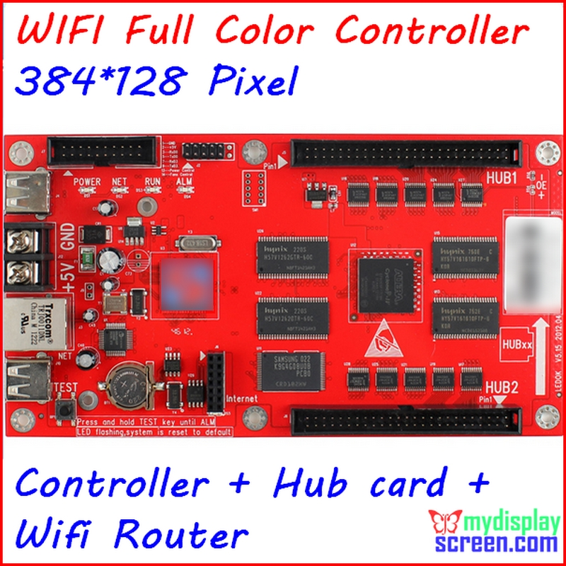 Full color controller,async controller,1024*64 pixel,  support wifi router,usb disk,cat 5,included brightness sensorFull color controller,async controller,1024*64 pixel,  support wifi router,usb disk,cat 5,included brightness sensor