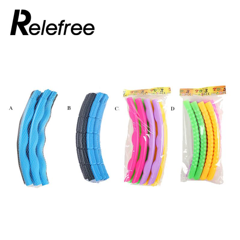 relefree Universal relefree 65cm Plastic Colourful Kids Hula Hoop Child Sports Aerobics Gymnastic Adjustable Sport Accessories