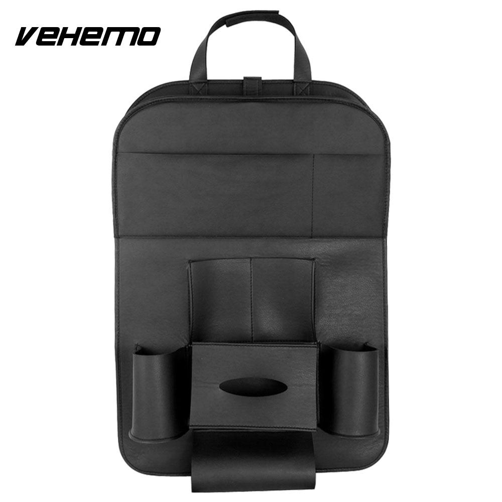 VEHEMO Hanging Bag Multicolor Auto Storage Bag Seat Back Bag Travel Anti Stepped Dirty Automobile Auto Seat Bag Anti-Kick Pad