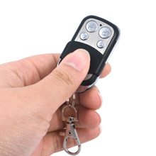Universal 4 Channel Wireless Remote Control 433Mhz Receiver Module Transmitter Electric Cloning Gate Garage Door Auto Keychain