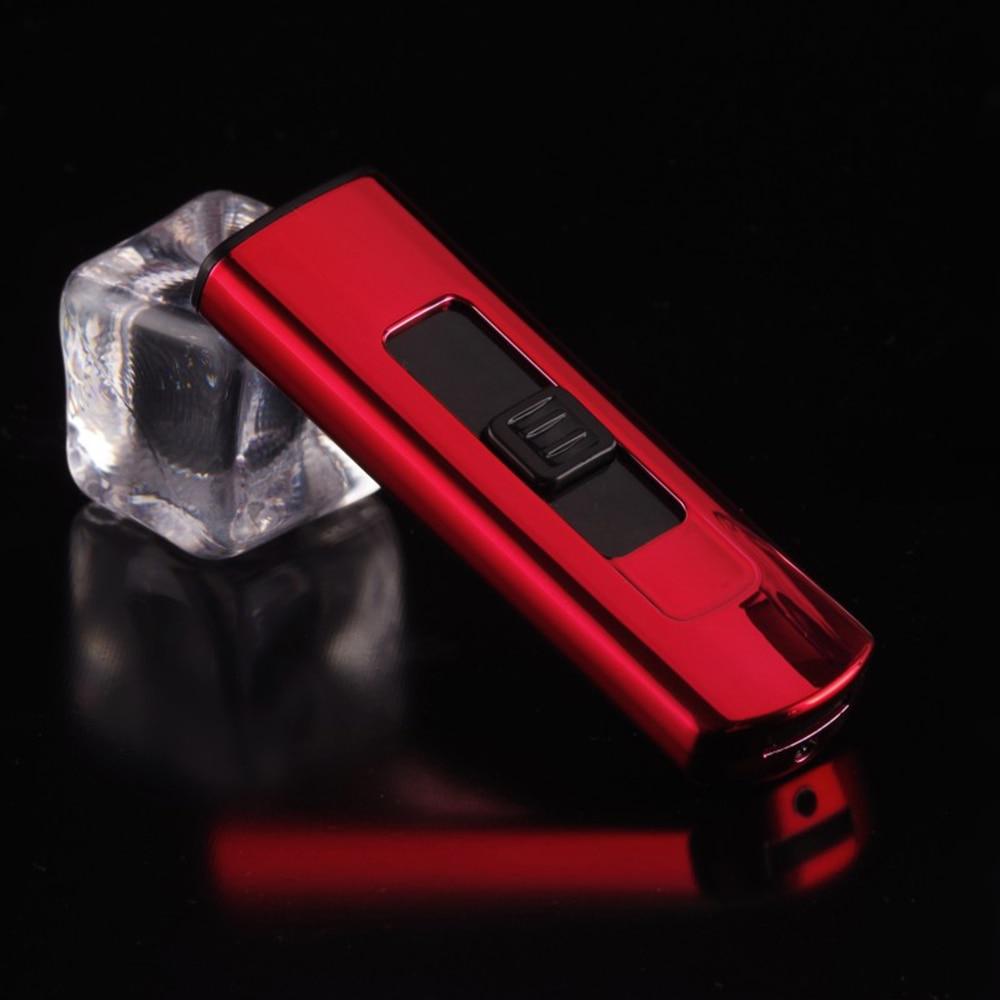 Портативный USB Перезаряжаемый ветрозащитный беспламенный дуга плазменная Зажигалка электронная зарядка прикуриватель