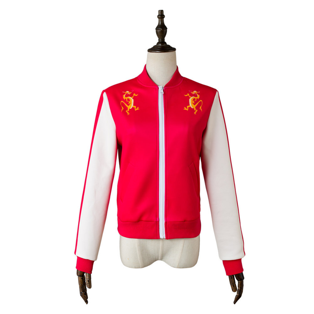Wreck-It Ralph 2 Breaks the Internet Mulan Cosplay Costume Jacket Coat