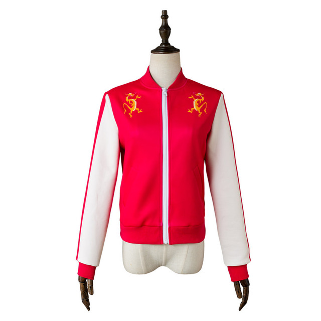224c1f7f455 Wreck-It Ralph 2 rompe el Internet Mulan Cosplay traje chaqueta abrigo