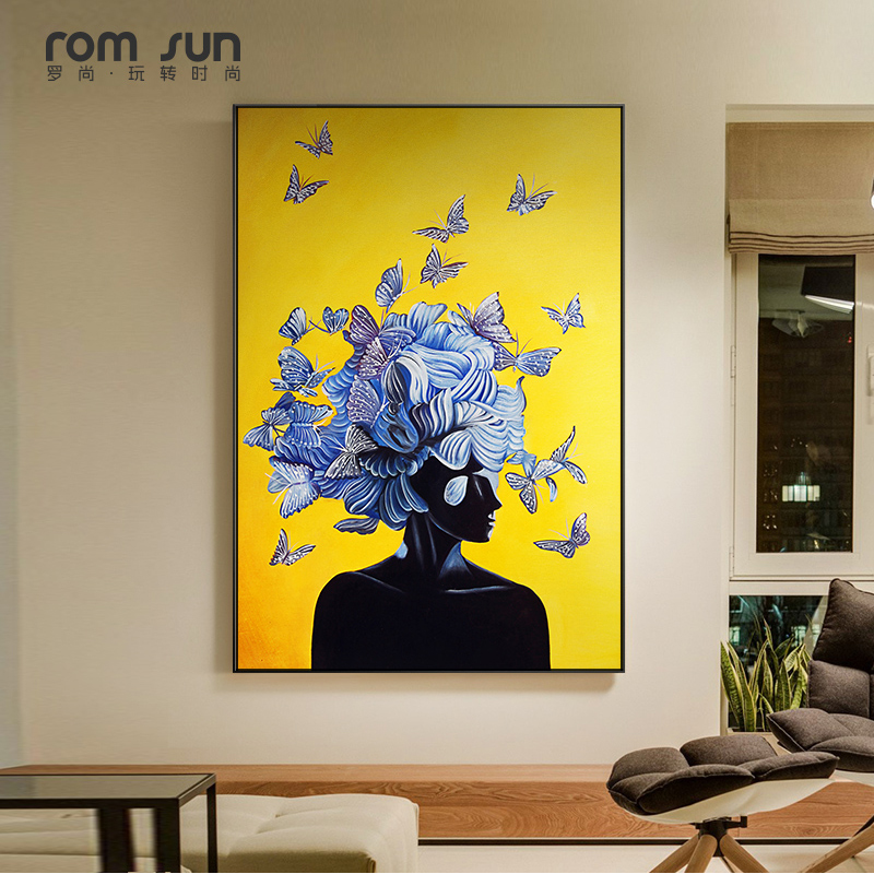 Top 10 Largest Butterfly Modern Oil Paintings Ideas And Get Free