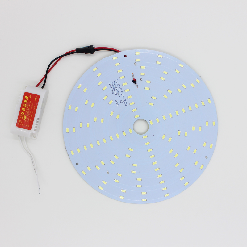 free shipping 21W 180-265V round Magnetic LED Ceiling Light LED Remoulding Plate Disc Light LED Board Panel Circular Tube Lights