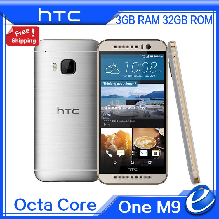 HTC One M9 4G LTE 32GB GSM/WCDMA/LTE Refurbished Mobile-Phone Octa-Core Snapdragon 810