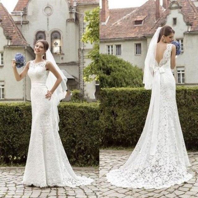 Hochzeit Kleider 2016 Neue Prinzessin Sleeveless Backless Bogen ...