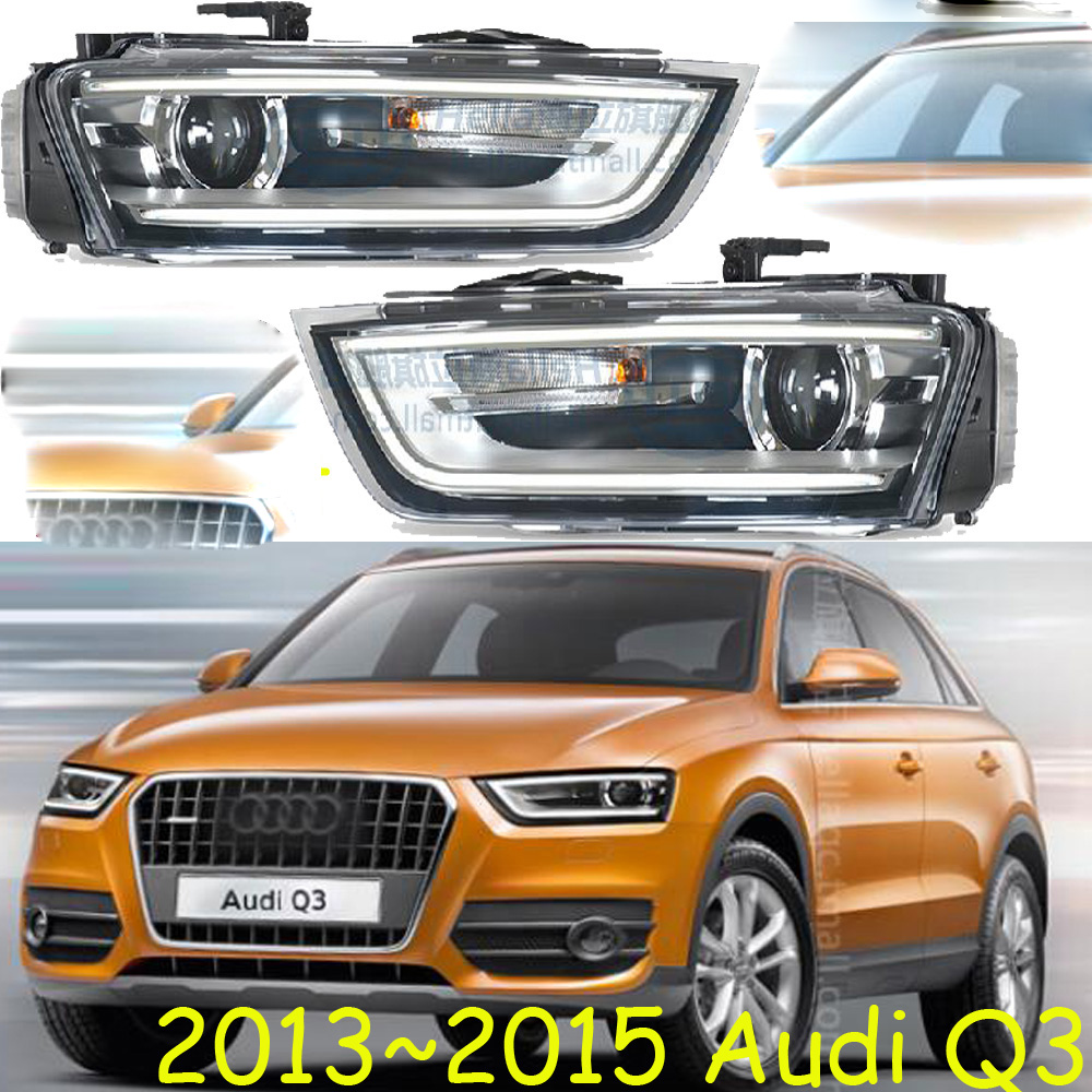 HID,2013~2016 Car Styling for Audl Q3 Headlight,canbus ballast,Q3 Fog lamp,A4,A5,A8,Q7,S3 S4 S5 S6 S7 S8,Q3 head lamp