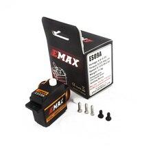 Ufficiale EMAX Servo EMAX ES09A Servo (Doppio Cuscinetto) Specifico Oscillante Servo Per 450 Elicotteri