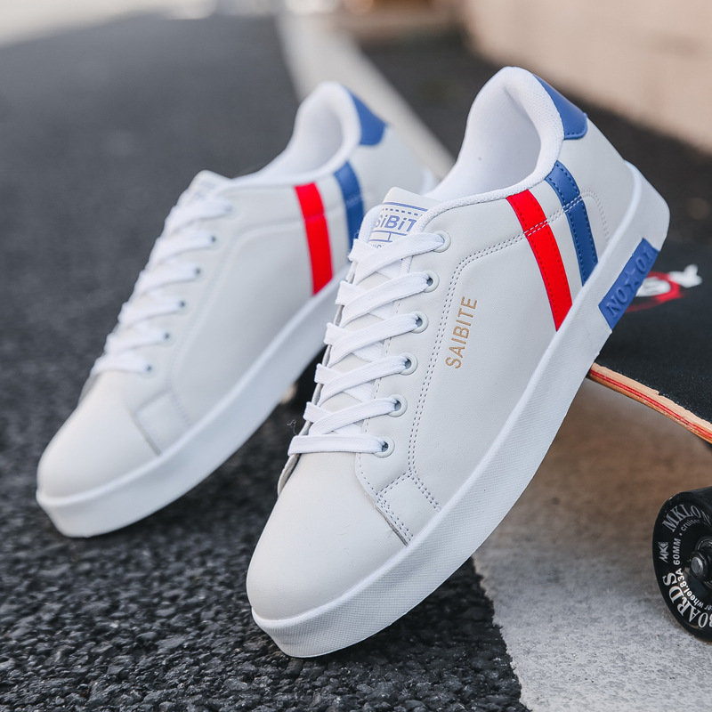 Male Sneakers White-Shoes Brand Footwear Street Cool Spring Masculino Chaussure Tenis