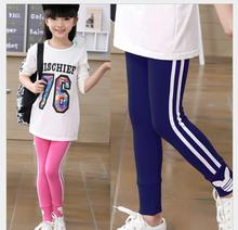 Girl's Leggings Spring and Autumn Sports Pants summer thin section trousers 2-7 year old baby cotton feet casual pants EX61