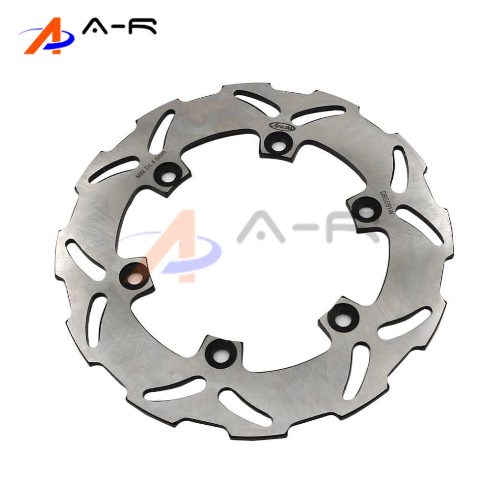 Rear Motorcycle Brake Disc Rotor for Yamaha YZF R6 1999-2002 YZF R1 2002-2003 TT250 TT 250 2000 Motorcycle Parts black gold motorcycle new front rear full set brake discs rotors for yamaha yzf r1 2002 2003 yzf r6 1999 2000 2001 2002 99 02