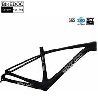 BIKEDOC китайские Углеродистые рамы 29ER углерода рамы для горного велосипеда горный велосипед Bicicletas 29 полная углеродная рамка велосипеда
