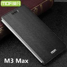 Meizu M3 Max Дело MOFI оригинальный чехол флип Meizu M3 Max крышка кремния Вернуться Жесткий Coque Fundas Капа meilan max Чехол 6.0 дюймов