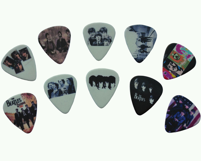 Lots of 20 Pcs Rock Band The Beatles 2 sides printing Guitar Picks