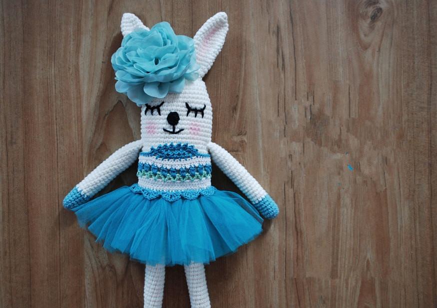 Crochet Bunny, Bunny Doll, Crochet Baby, Amigurumi Bunny , Crochet Bunny Toy, Crochet Baby Gifts, Handmade Toys Rattle
